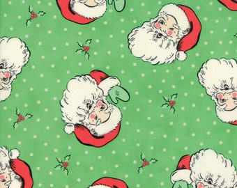 Sale! Santa in green, Swell Christmas, Urban Chiks for Moda 31120 14