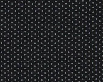 Spot On Pearlized Onyx Mini Dots From Robert Kaufman