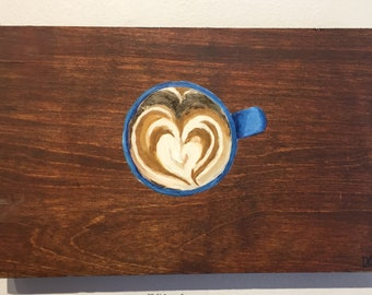 Coffee Art in Wood