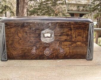 "Rare 1929/30 Crosley Model 21 (31S) ""Buddy"" Six Tube Battery Operated Radio"