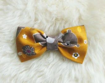 Baby bear bow tie