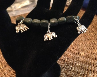Elephant Serpentine Bracelet
