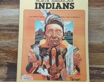 North American Indians, The How and Why Wonder Book. 1965, vintage kids book