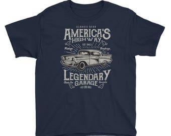 Vintage Roadrage Youth Short Sleeve T-Shirt