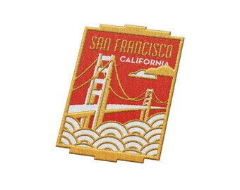 San Francisco California Travel Patch
