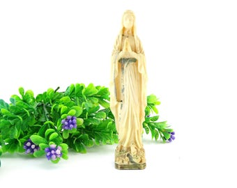 Holy Mary Figurine - Virgin Mary Figurine  - Our Lady Statue - Madonna - Mother Mary Resin Statue