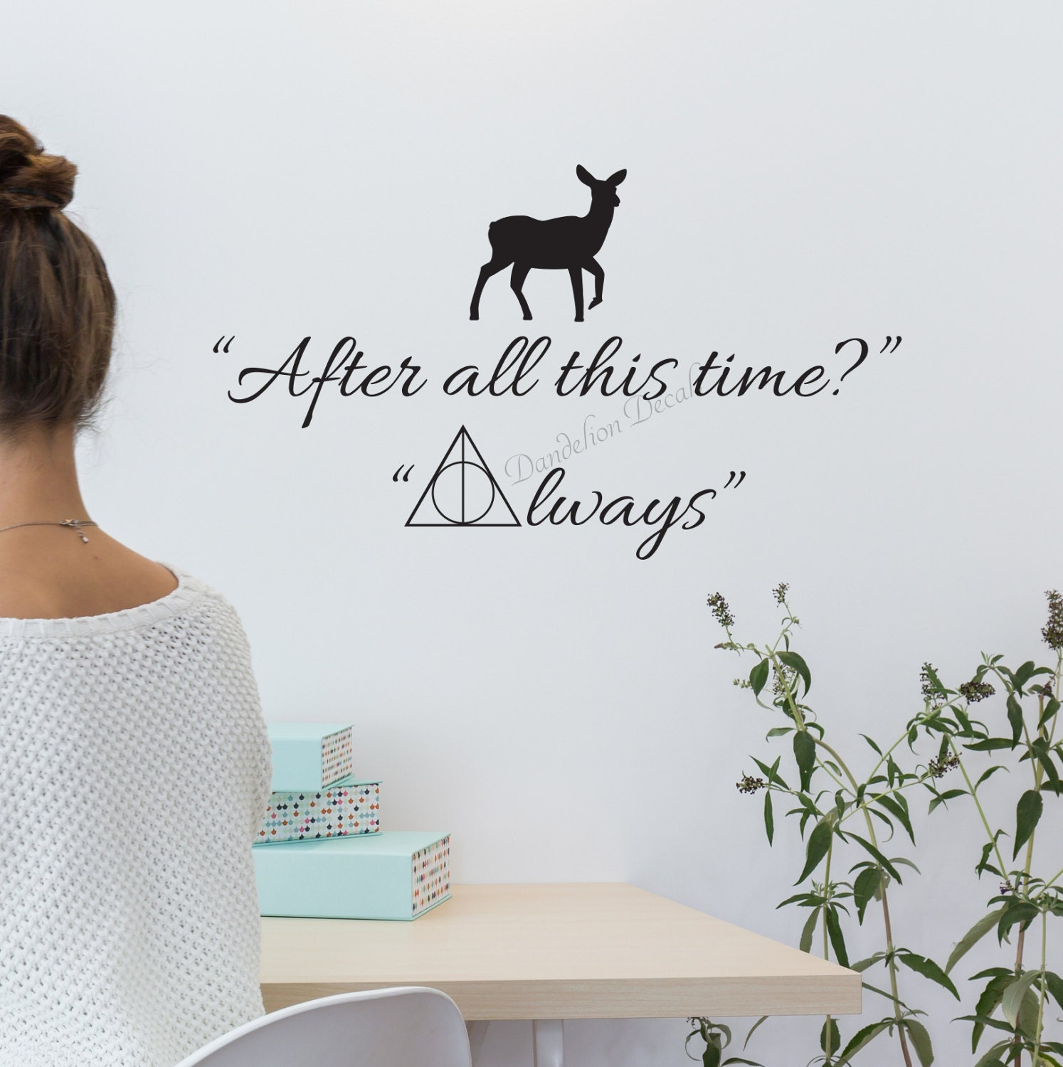 After all this time decal harry potter quotes deathly zoom buycottarizona