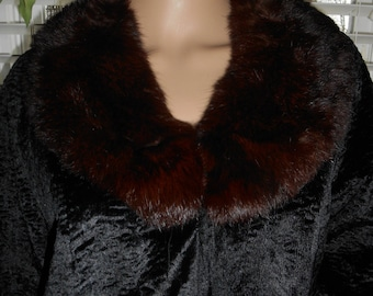 Vintage 50's Persian Lamb and Mink Evening Jacket