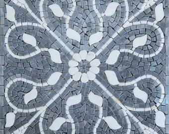 Floral Mosaic Tile - Ladonna