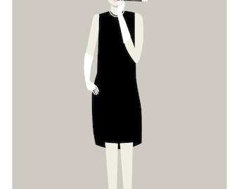 Audrey Print - Different Sizes