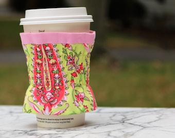 Cup Sleeve - DrinkWear - Coffee Cozy - Cosy - Reusable - Eco Friendly - Beverage - Tea - Coffee - Cup Holder