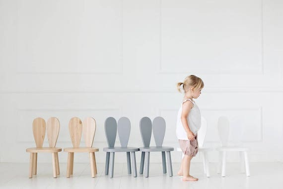 Attirant Wooden Kids Chair / Bunny Chair / Little Nomad