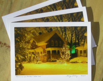 Armington House, Circa 1868, Photo Art Card