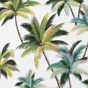 Palm Tree Fabric Etsy