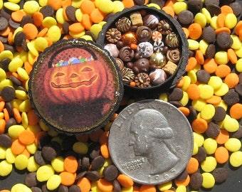 Miniature Box of Chocolates 12th Scale Halloween