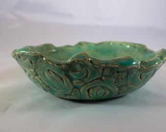 Handmade Ceramic Coil Bowl
