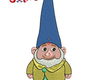 Gnomeo & Juliet Sherlock Gnomes-Benny Machine Embroidery Design, Gnomeo and Juliet Characters Embroidery Design
