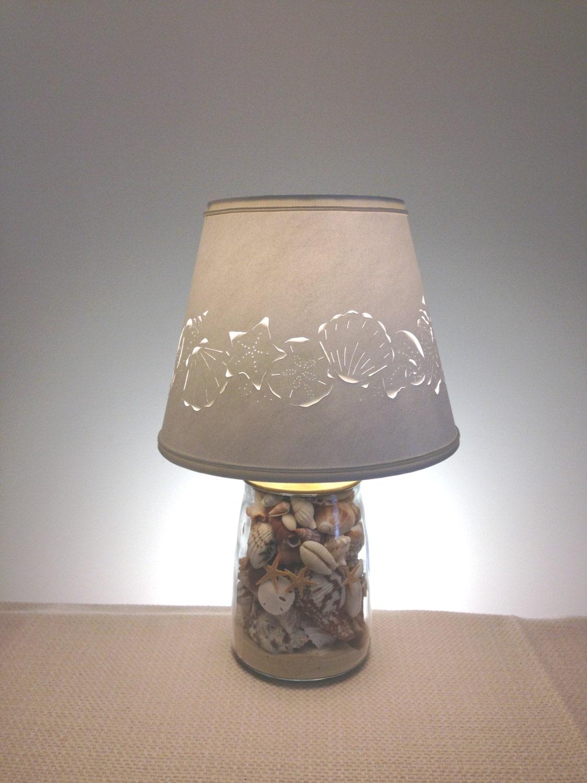 Relatively Small Seashell Lamp Seashells Shell Lamp Small Lamp YX67