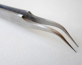 Tweezers bend fine Clay Flower Tools