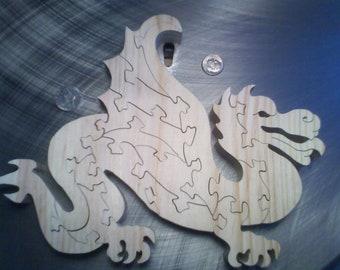 Wooden Dragon Hilarion Puzzle