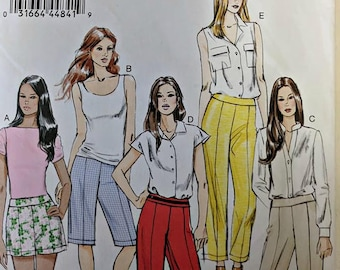 V8717, Vogue Pattern, Sewing Pattern, Pants Pattern, shorts Pattern, Out of Print, Sizes 14-22