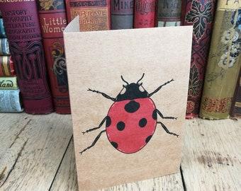 Ladybird card, Birthday Card, Anniversary Card, anniversary, Ladybird birthday card, personalised card, Ladybird