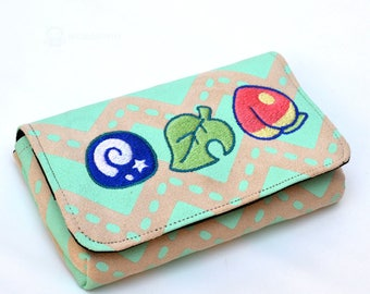 Crossing pastel items - 3DS case