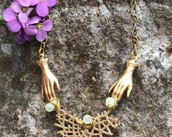 Gypsy Hands Necklace