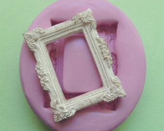 Silicone Frame Mold Polymer Clay Resin Fondant Mold