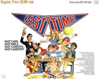 Spring Sales Event: Fast Times At Ridgemont High Movie POSTER Rare Sean Penn