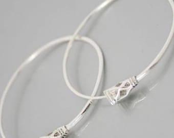 Silver Tuareg earring
