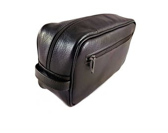 Leather Dopp Kit Dopp Kit Cosmetics Bag Mens Toiletry Bag Leather Toiletry Bag Toiletry Bag Dopp Kit Bag Leather Cosmetics Bag Toiletry Gift
