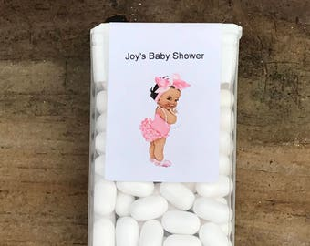 Personalized Tic Tac Labels African American Baby African American Princess