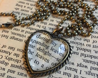 Word Love Necklace