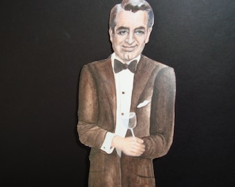 Cary Grant bookmark