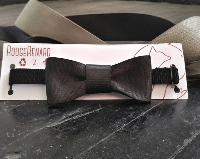 Bow tie belt recovered security eco-friendly adjustable