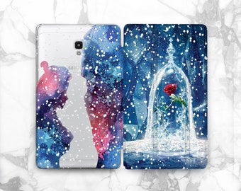 Beauty and the Beast galaxy s3 tab case Samsung Disney case Samsung tablet cover galaxy tab a 8 case Samsung s2 9.7 10 inch tablet case 10.1