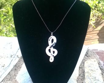 White key of the sol.Necklace