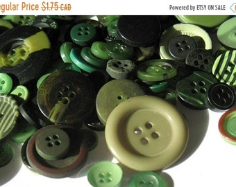 50% OFF - Leaf Green - Button Selection
