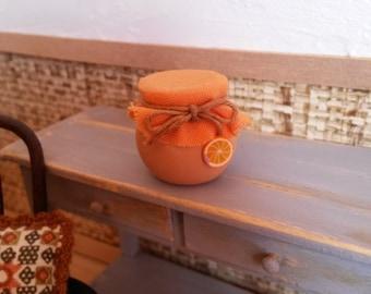 Jar of Orange Marmalade 1/12 scale