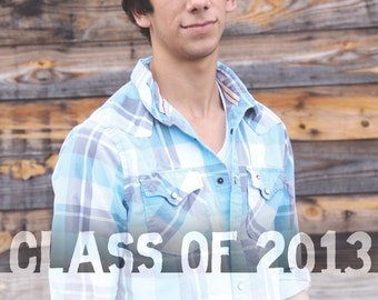 Graduation Announcement 2013 - digital invitation