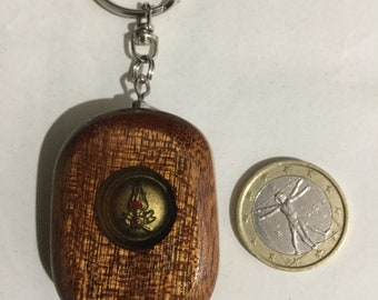 Key ring with fire brigade logo
