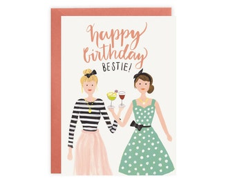 Happy Birthday Bestie Card (The Abby)