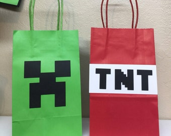 Minecraft Handled Goody bags