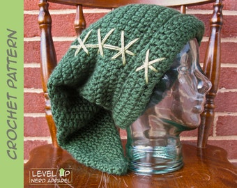 Pottery Smasher hat CROCHET PATTERN || 6 sizes || Instant Download