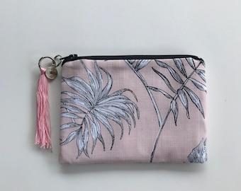 Pink Palm clutch