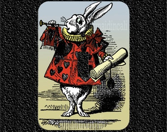 The Rabbit from Alice in Wonderland Switch Plate Covers Toggle/Rocker/Outlet