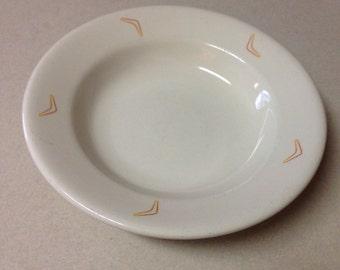 Niagara China Restaurant Ware Ironstone Bowl  Boomerangs Vintage