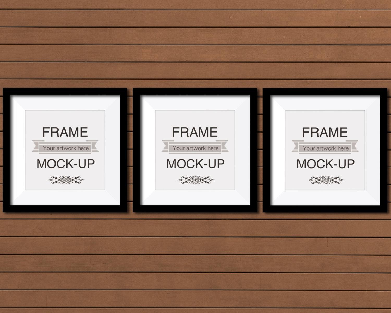 Maqueta de marco superposición de arte marco digital imagen