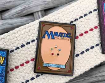 Magic The Gathering Enamel Pin -  Deckmaster  Enamel Pin - Rhinestones Enamel Pin - Enamel Lapel Pin - Enamel Hat pin